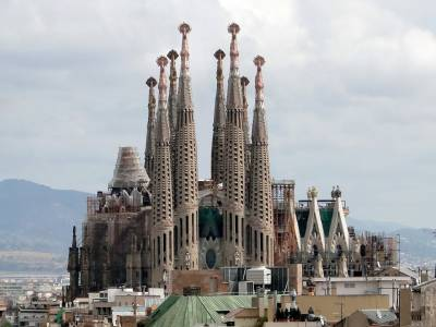Tourism in Barcelona Spain